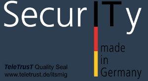 Auszeichnung Security Made in Germany für die ionas OHG