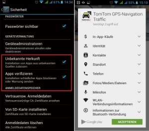 Android Verifizierte Apps