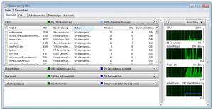 Windows-Befehl Screenshot resmon