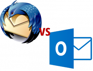 Thunderbird vs Outlook - Thunderbird als (fast vollständige) Outlook Alternative