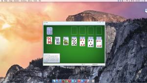 Beispiel Ausführung Windows auf einem Mac im Unity Mode