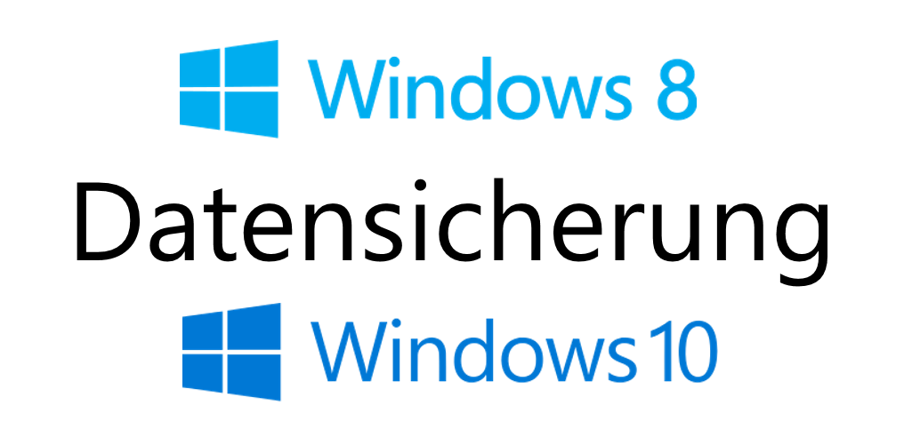 Datensicherung mit Windows Systemtools
