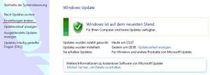 Einstellungen für das Windows 10 Update festlegen