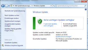 Windows Update Windows 7