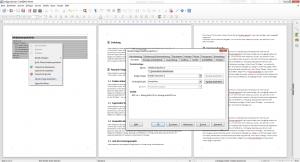 Bearbeitung einer Inhaltsverzeichnis Absatzvorlage in LibreOffice