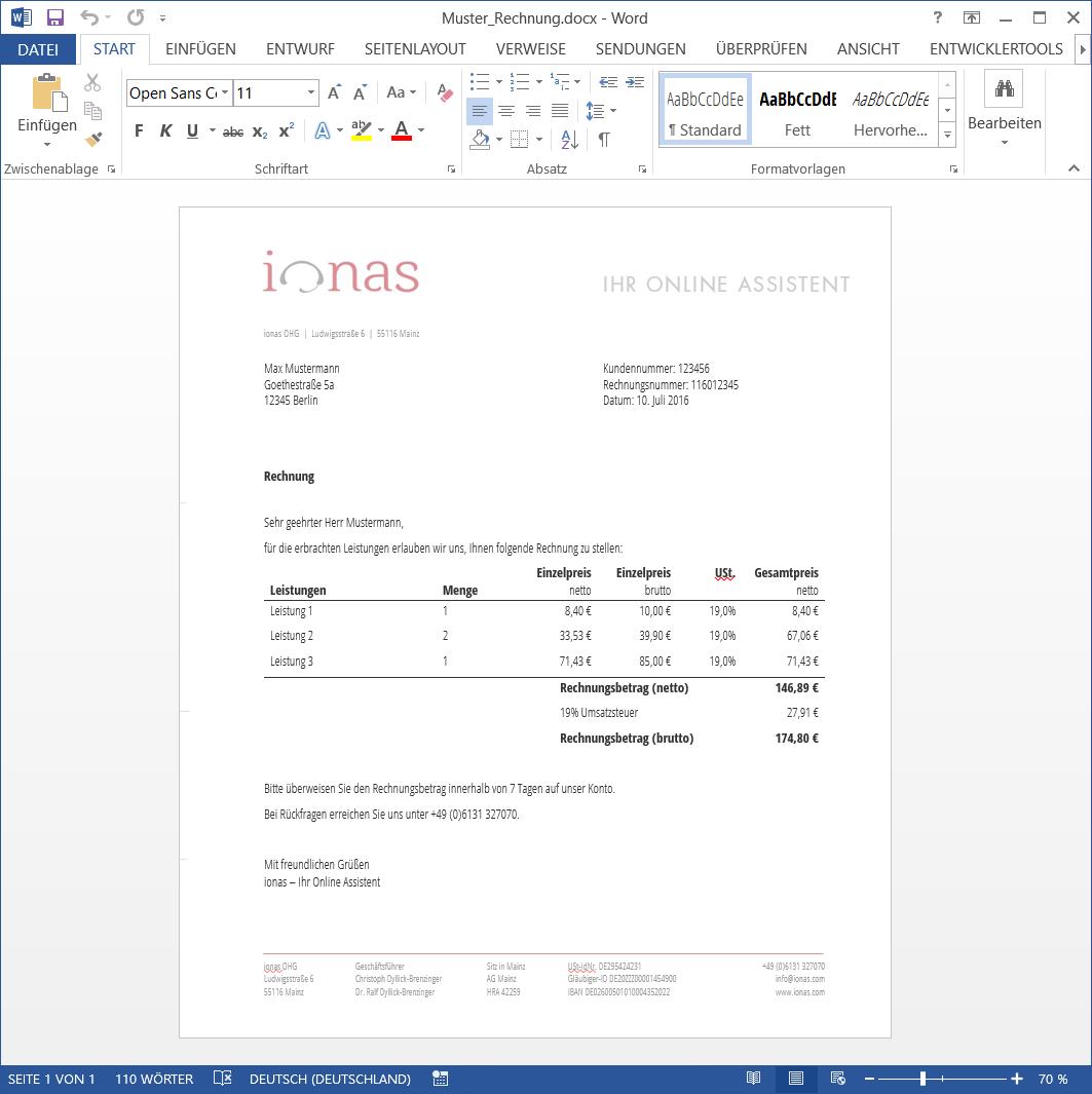 Mit Word rechnen - Formeln auch ohne eingefügte Excel-Tabellen ...