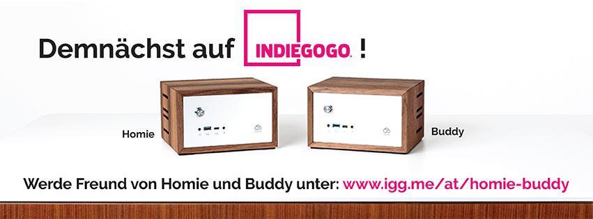 Ab Juni auf Indiegogo: Homie und Buddy - die ersten Computer in Massivholz