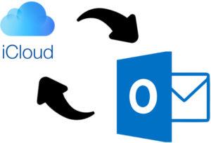 Synchronisation Outlook iCloud