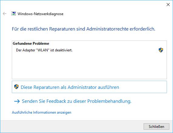 Die Konsultation der Windows Problembehandlung sollte eine der ersten Maßnahmen sein, wenn das WLAN nicht funktioniert.