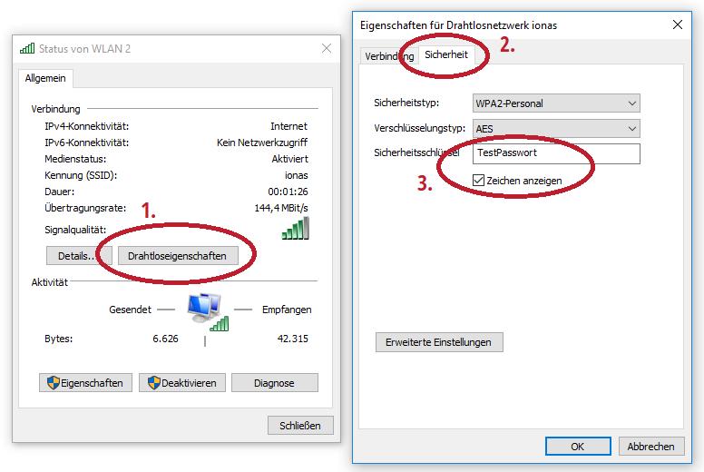 Passwort Auslesen Windows 7
