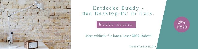 Buddy-PC, spezielles Angebot für alle ionas Leser