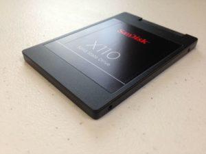 Moderne Festplatte vom Typ SSD