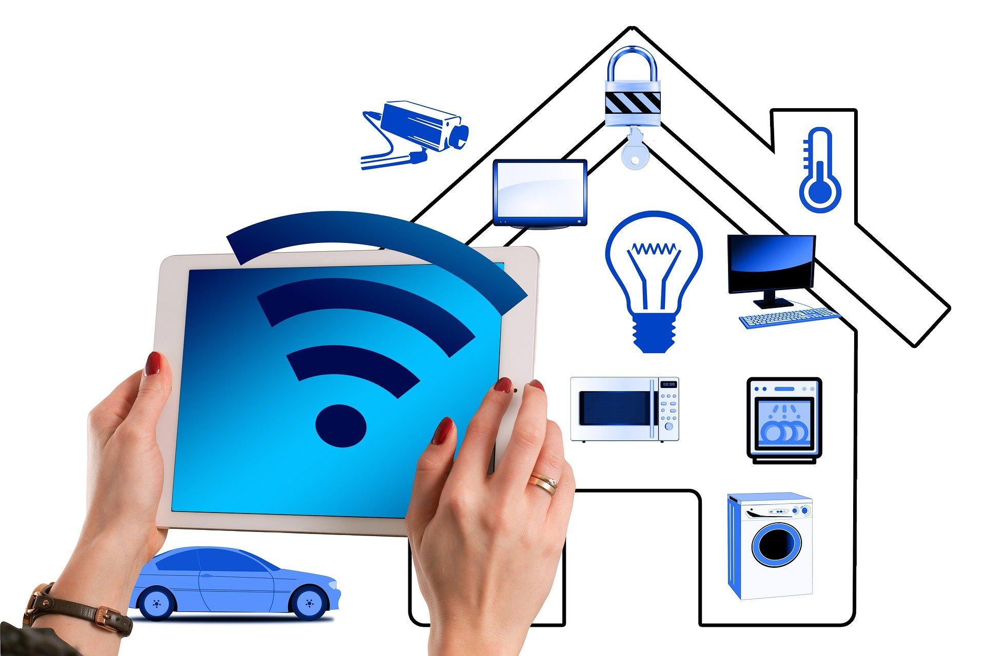 Moderne Technologien für Zuhause